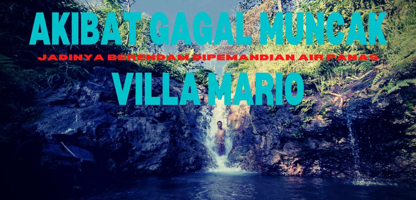 Berendam di Pemandian Air Panas Subang Villa Mario