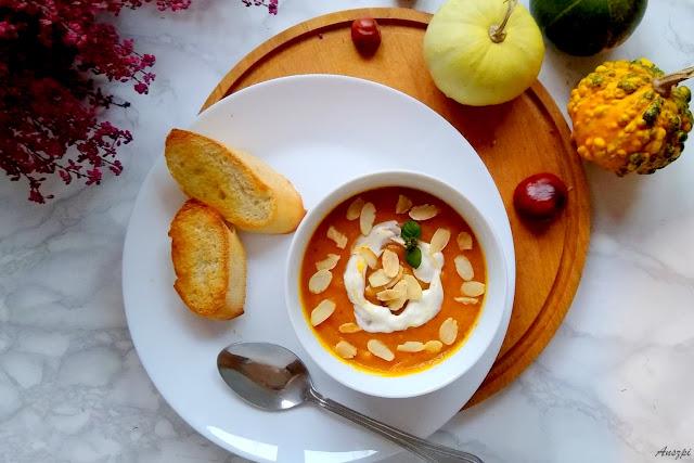 Królowa jesiennego stołu- zupa krem z dyni