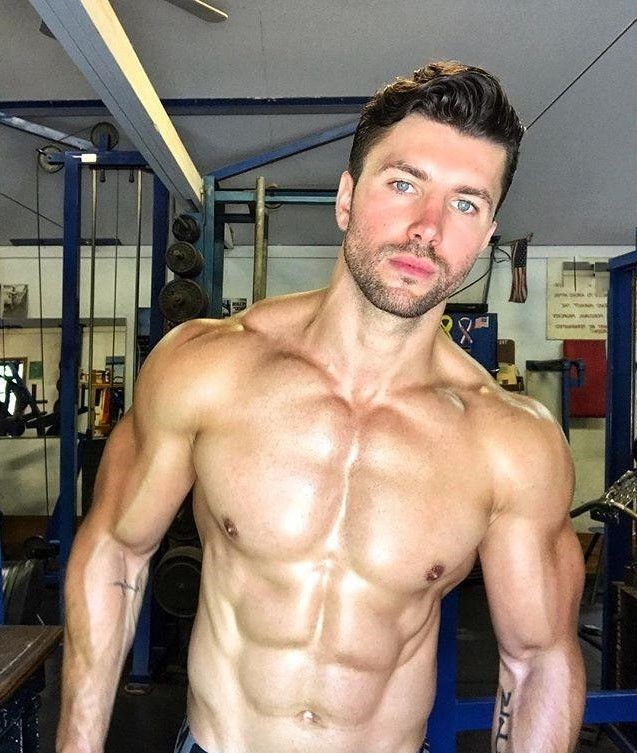 handsome-shirtless-fit-beefy-muscular-sixpack-abs-man-hunk-beautiful-blue-eyes-round-pecs