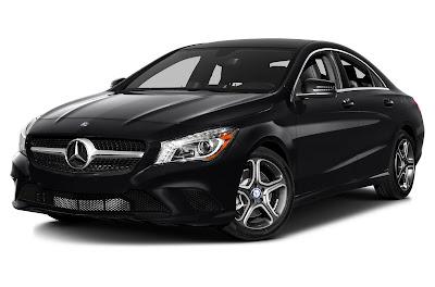 Mercedes CLA Facelift left side front look Hd Images