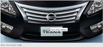 All New Teana (New Grille)