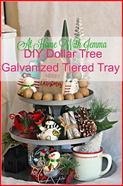 DIY, Dollar-Tree, Craft, Simple, Christmas, Holiday