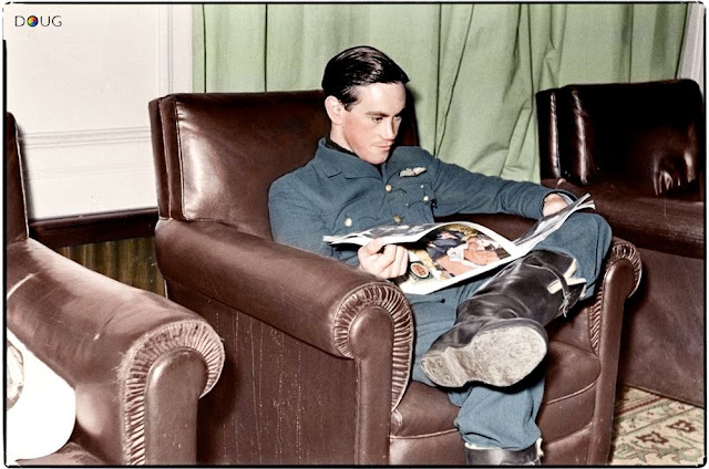 24 September 1940 worldwartwo.filminspector.com RAF Pilot Harold Birdie Wilson