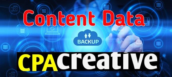 Blogger Me Blog Ka Content Data Kaise Download Kare 2019 ( Full Guide )