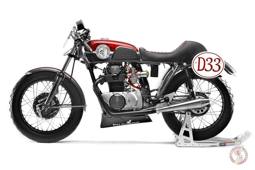 HONDA CB350| D33 RACING| Dime City Cycles.