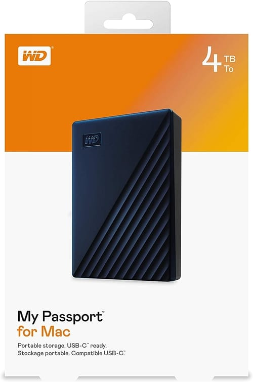 Review WD 4TB My Passport for Mac External Hard Drive