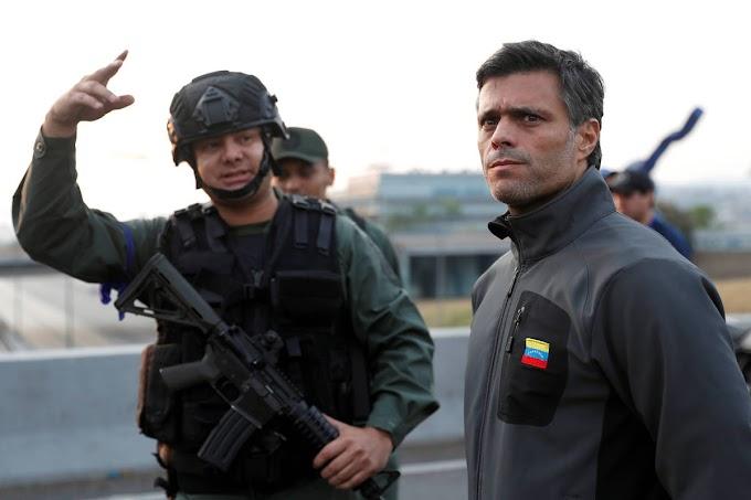 VENEZUELA: Líder da oposição sai de prisão, prega deposição de Maduro e ditadura fala em golpe