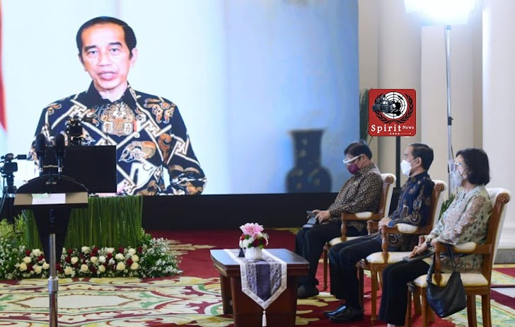 Presiden Jokowi, Vaksinasi Adalah Game Changer Pengendalian Pandemic
