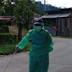 Pemerintah Nagari Talang Balarik gencar lakukan penyemprotan disenfektan di setiap rumah di dua kampung