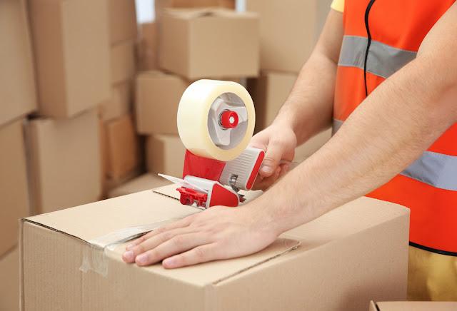 industriële verpakking, plakband, noppenfolie, palletwikkelfolie, kraftpapier