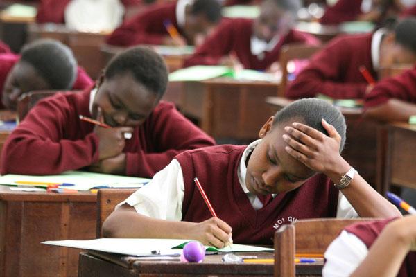 KCSE 2017 TIMETABLE