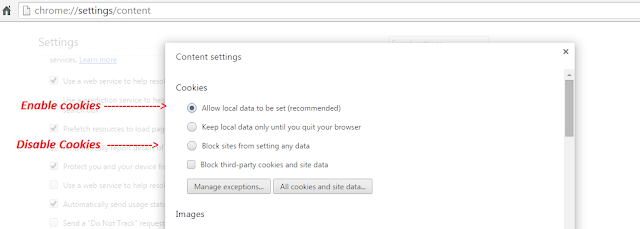 How To Enable and Disable Cookies On Google Chrome