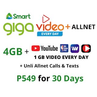 Smart GIGA VIDEO+ ALLNET 549