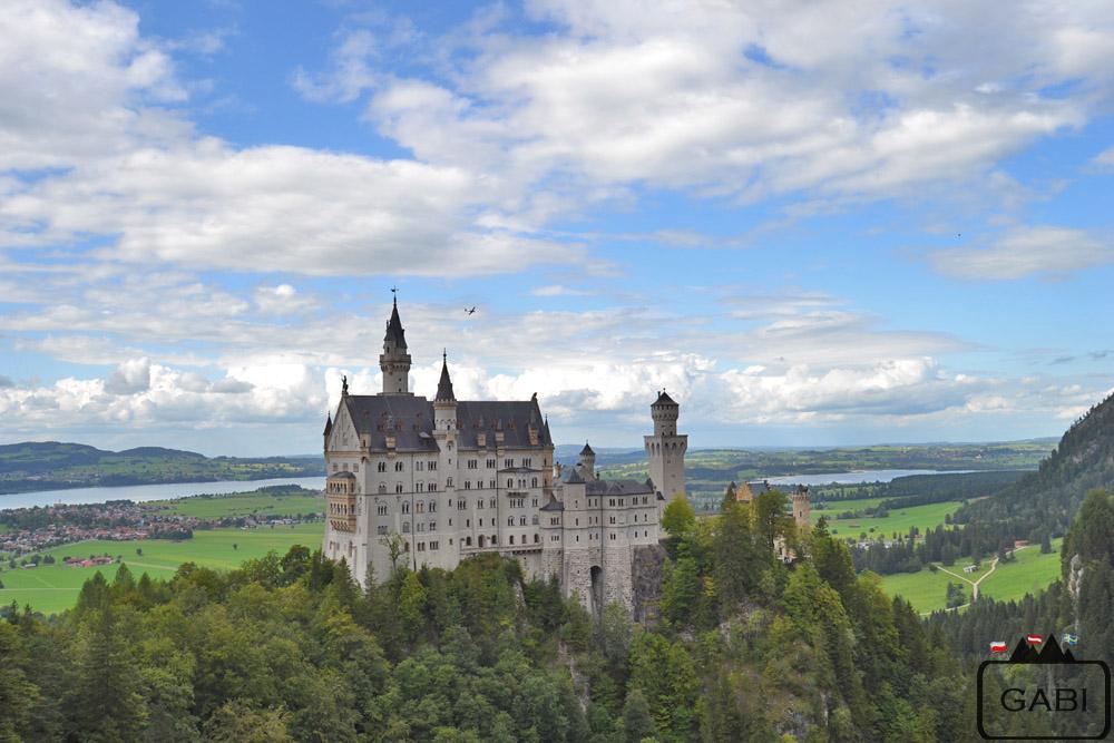 zamek Neuschwanstein, Niemcy, Bawaria