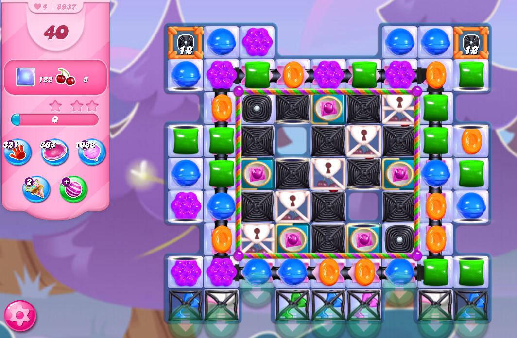 Candy Crush Saga level 8937