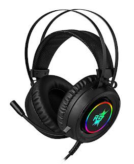 Redgear Cloak Wired RGB Gaming Headphones