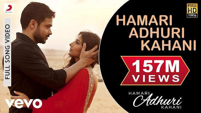 Hamari Adhuri Kahani Lyrics - Arijit Singh  Emraan Hashmi  Vidya Balan