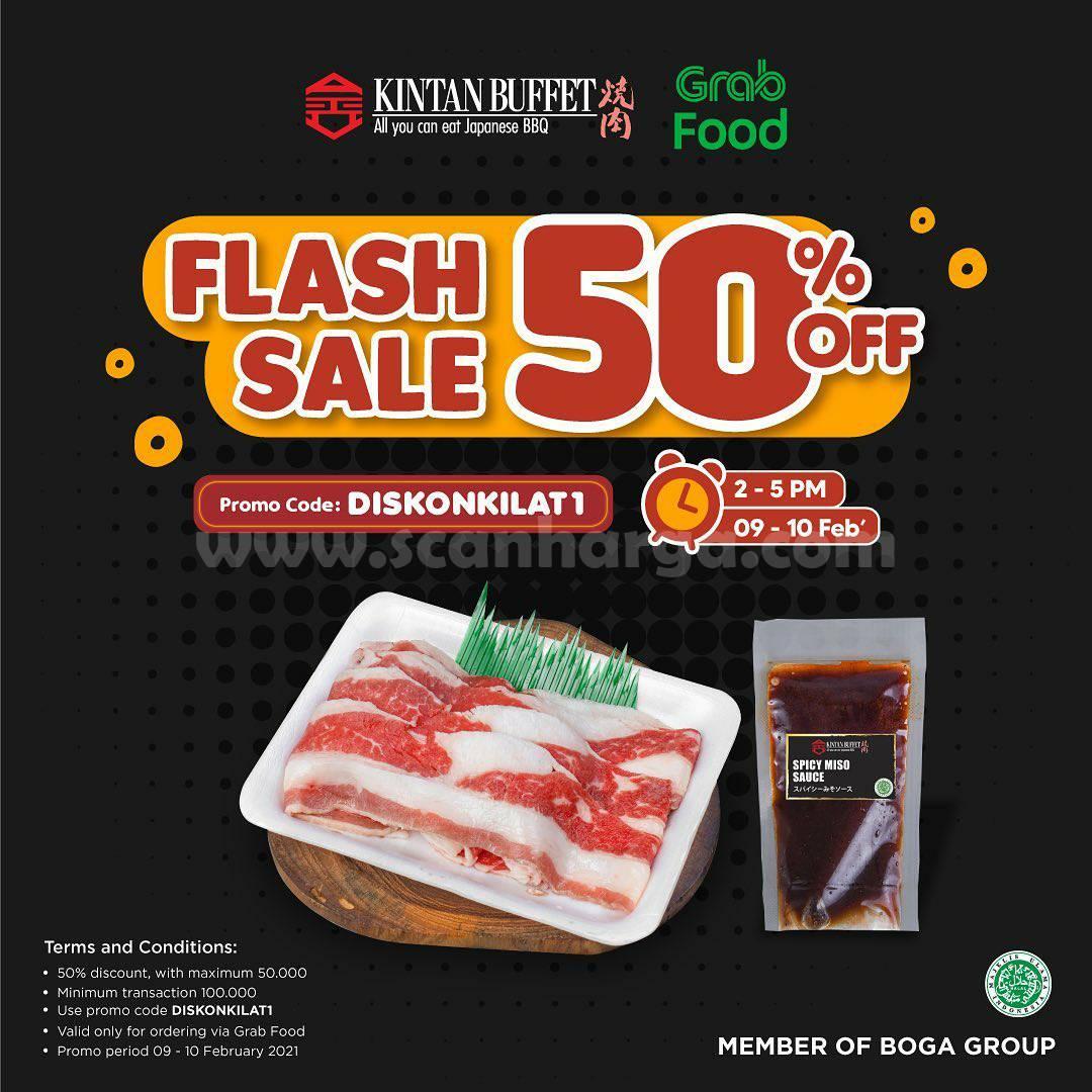 KINTAN BUFFET Promo FLASH SALE GRABFOOD! DISKON hingga 50%