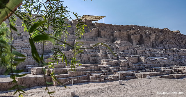 Huaca Pucllana, Lima Peru