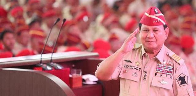 Ngabalin Bersyukur Andai Prabowo Jadi Menteri Pertahanan