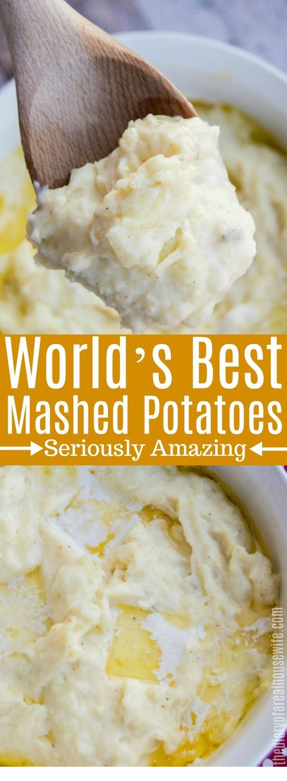 World's Best Mashed Potatoes