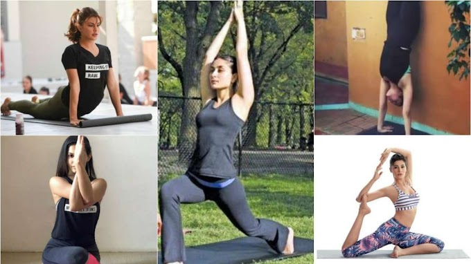 Bollywood celebs swearing by Yoga during COVID-19 lockdown