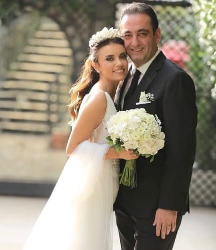 Ferda Yıldırım ve eşi Mehmet Sait Yılmazoğlu düğün fotoğrafları