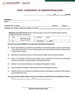 Si los padres se niegan a a firmar la carta compromiso y los directivos le impiden la entrada a sus