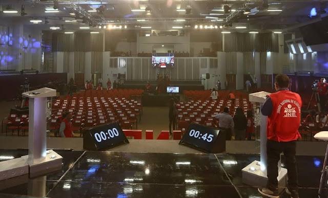 Debate presidencial 2021 del JNE