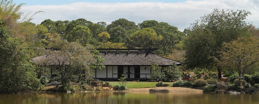 Morikami Museum en la antigua colonia de Yamato