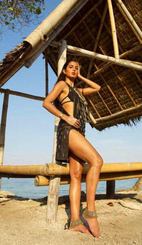 Katrina Kaif hot thighs in Bikini Swimsuit