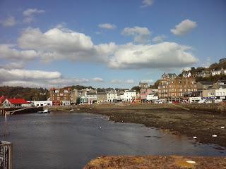 mesto Oban v Škótsku