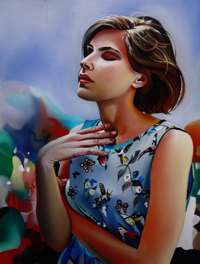 Польский художник. Zofia Blazko