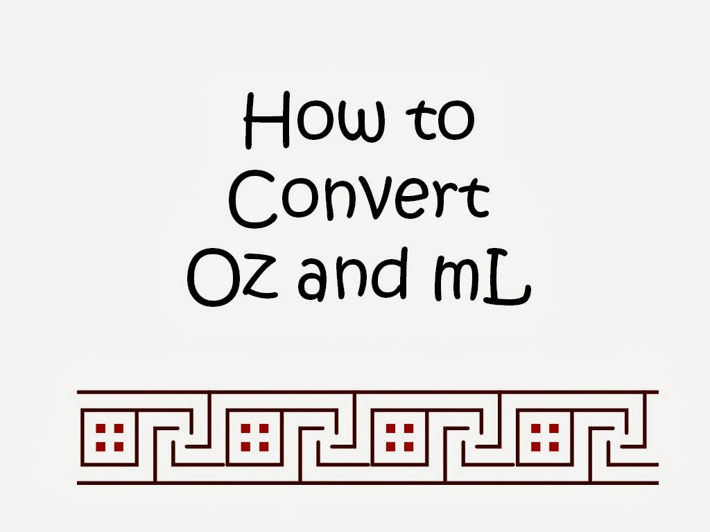 How To Convert Oz Ml Quick And Simple Tips Conversion Chart