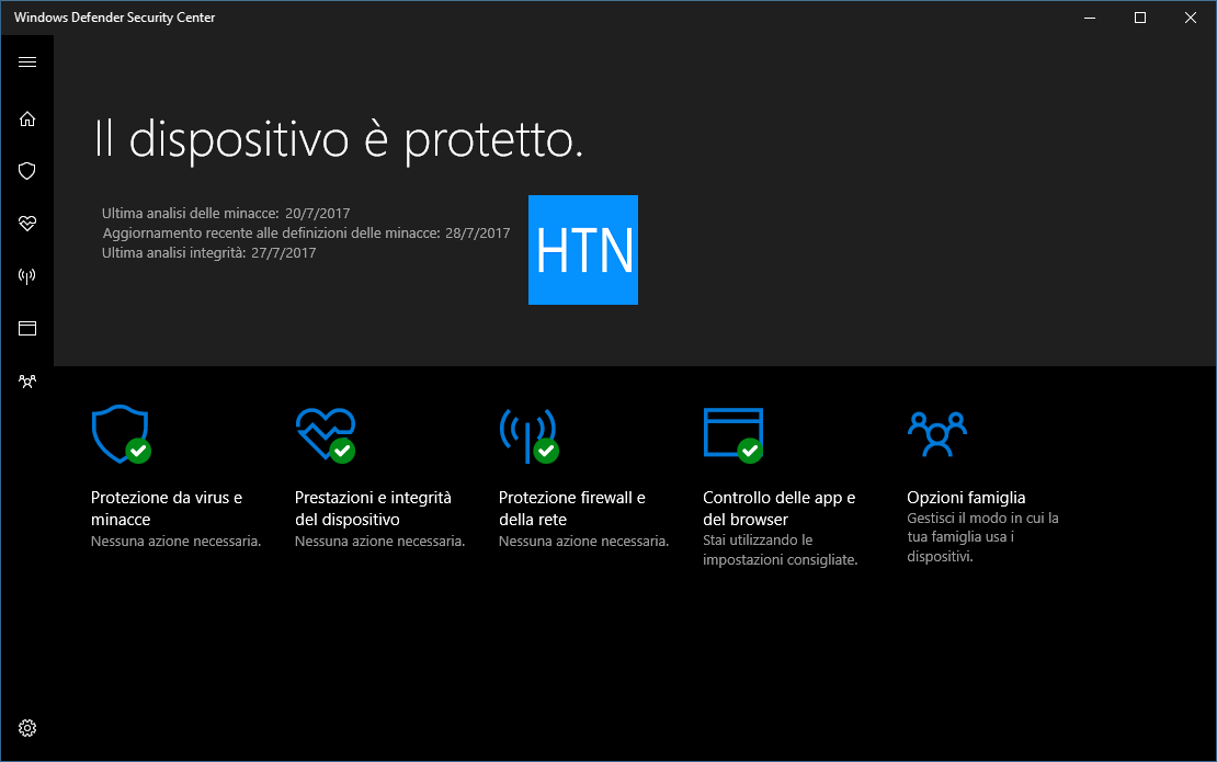 Report-integrita-Windows-Defender