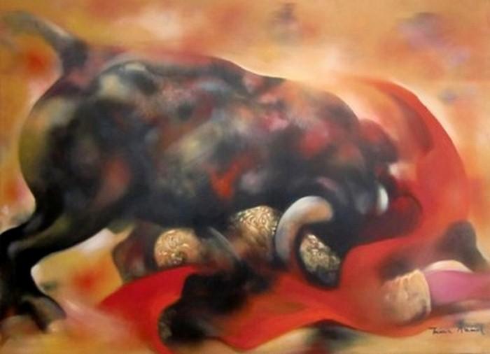 Танцы в картинах. Maria Amaral 15