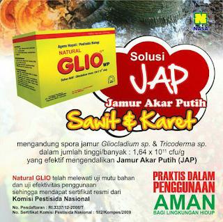 Natural Glio Nasa untuk Kelapa Sawit