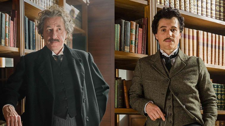 "Geoffrey Rush - Johnny Flynn como Einstein ""Genius"""