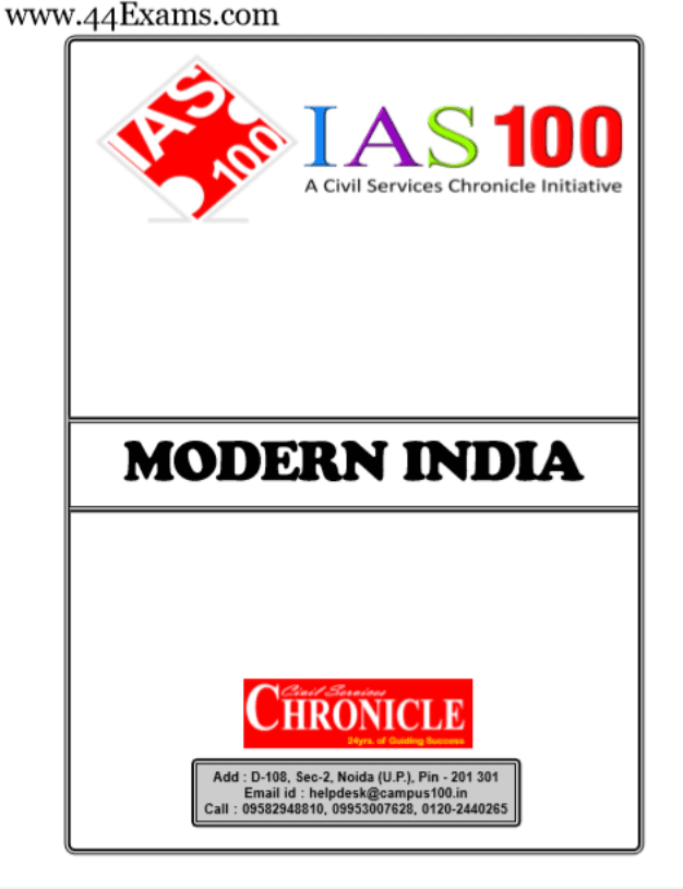 Modern-India-by-Chronicle-IAS-Academy-For-UPSC-Exam-PDF-Book