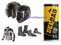 """Concorso """"Vinci con Beebad"""" : attrezzature per moto (caschi, stivali, scarpe, accessori,ecc)"""