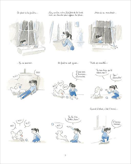 """page de """"L'extraordinaire Abécédaire de Zoé Marmelade"""" par Guillaume Bianco et Marie Pommepuy chez Soleil"""
