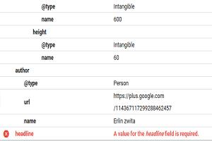 Mengatasi Kesalahan Data Terstuktur Lengkap Pada Google Webmaster