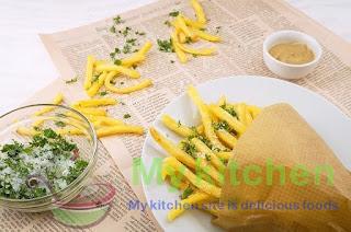 How to prepare potato panne