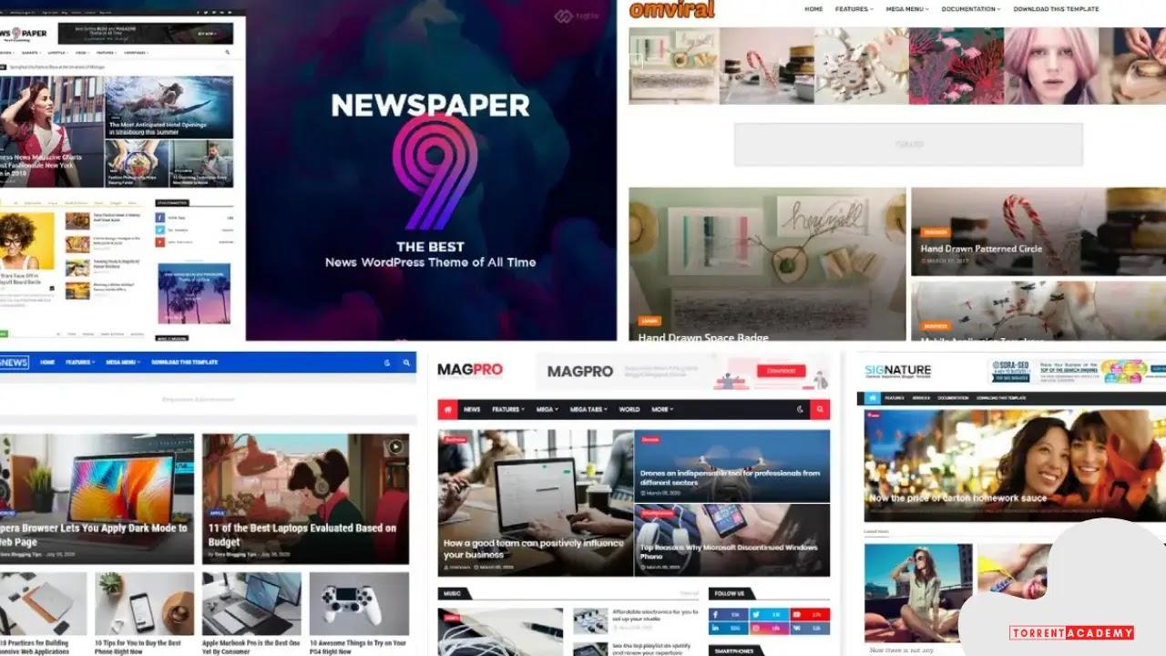 Top 5 Free Premium Responsive Professional Blogger Templates