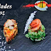 Arroz relleno de fritada, macadamia, nueces y chulpi