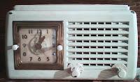 Παλιό ξυπνητήρι ραδιόφωνο