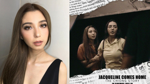 Donnalyn Bartolome plays the role of Jacqueline Chiong in Viva's film Jacqueline Comes Home