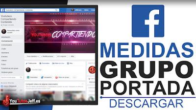 Medidas Exactas Portada Grupo de Facebook - Descargar Medidas