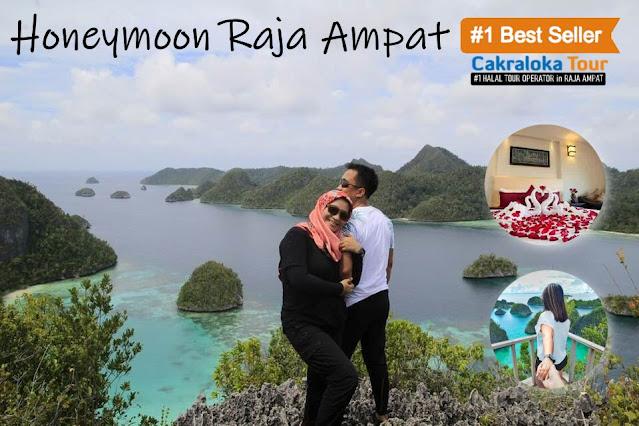 paket honeymoon raja ampat