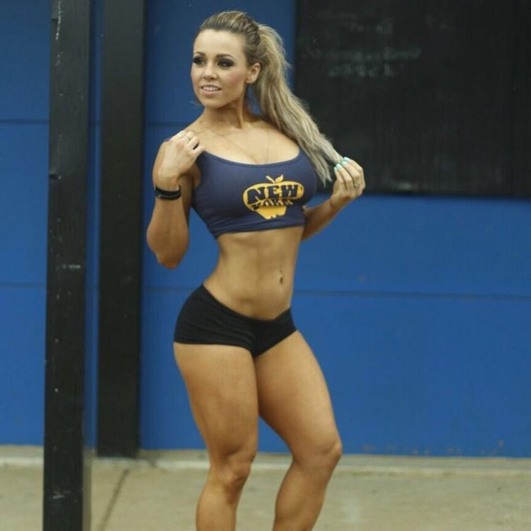 Stephanie Sanzo Australian fitness bikini figure